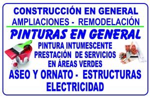 construccion obras menores prestacion de servicios varios jmt. eirl