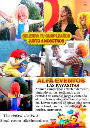 fiestas infantiles payasitas titeres magos decoracion con globos  7698152