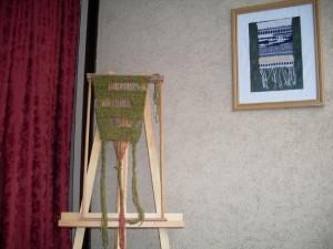 clases de tejido en telar artesanal lana www.aprendetelar.com