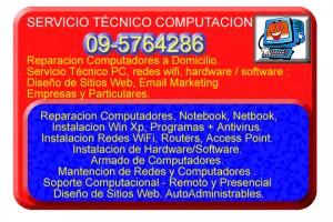 reparacion de computadores, arreglo computadores 9-5764286... vitacura, las condes, la reina, sector oriente