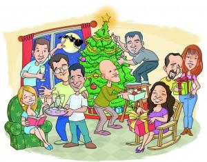caricaturas en vivo para eventos y encargos particulares