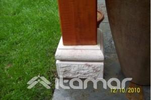 piedra  para  pilares