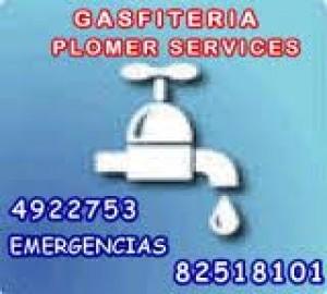 gasfiteria profesional a domicilio 4922753 cel 82545963