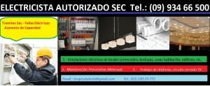 electricista  autorizado  providencia cel : 93466500