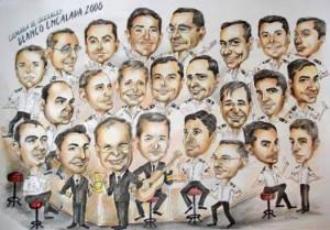 caricaturas chile eventos matrimonios artista colegios empresas fiesta