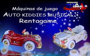 auto kiddies musical rentagame/ ventas a todo chile