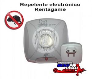 repelente electrónico rentagame, seguro y eficaz para usar en casas