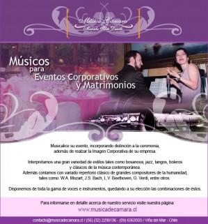 m�sica internacional en vivo para bodas  en casablanca