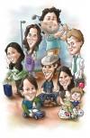 caricaturas para eventos y encargos particulares