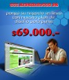 Dise�o WEB Economico $69.000.-