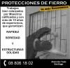 Potecciones de Fierro - Rejas - Rejas para Piscina - Cobertizos - Portones
