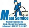 Maatservice limpieza de alfombras departamentos casas y oficinas