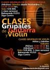 Profesora de violín para clases grupales (niños y adultos)