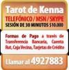 Consultas de Tarot Telefonico 4927883