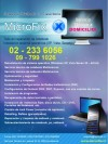 Servicio Tecnico Netbook, Notebook a Domicilio
